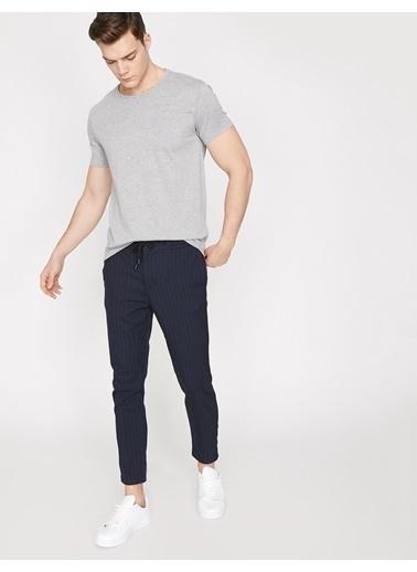 Koton Cep Detaylı T-Shirt Gri
